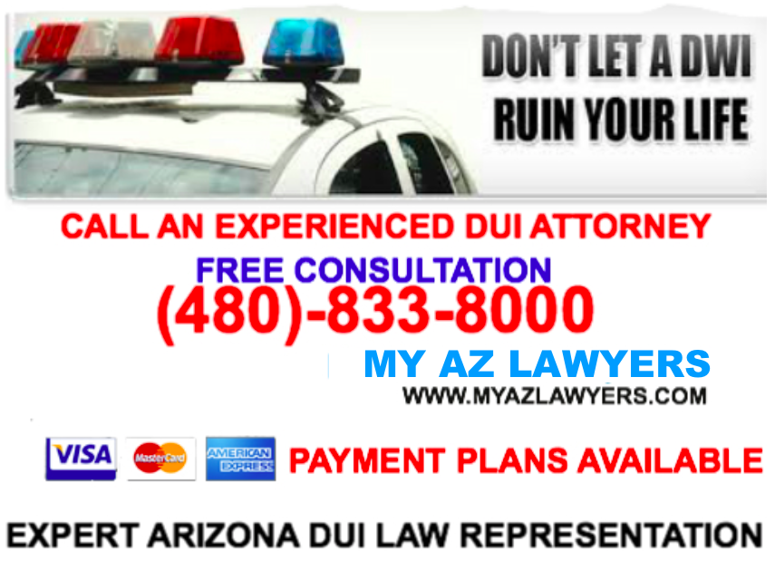 Arizona DUI attorney ad